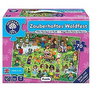 Orchard_Toys 10242-Puzzle, mágica Bosque Fijo, 70Piezas, 61x 42cm