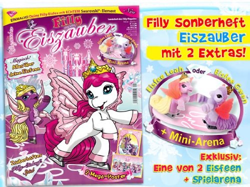 Preisvergleich Produktbild Special Magazine with 1 of 2 Exclusive Special Edition Figures (Orig. Size) Filly Fairy Ice plus Mini Arena