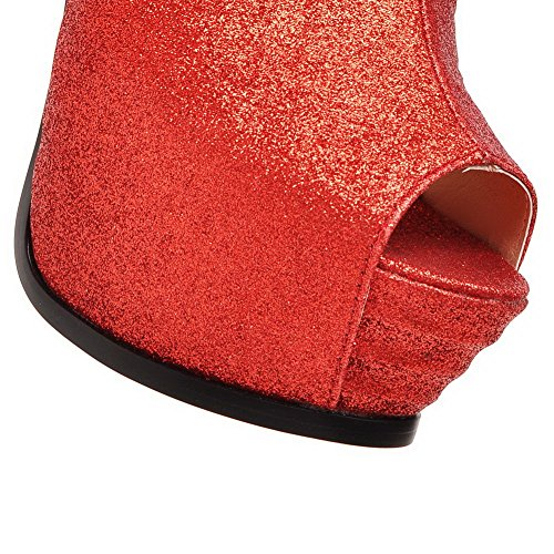 Adee , Sandales pour femme Rouge