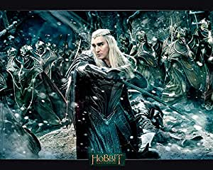 Poster affiche The Hobbit Film 3 Le Roi Thranduil