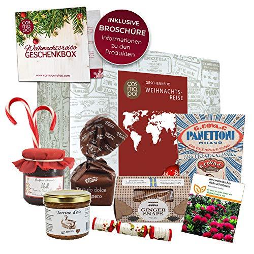 Geschenk für Weihnachten in aller Welt   Süßigkeiten Mix Christmas Dekoration   Weihnachtsbaum   Geschenkidee Weihnachtsgeschenk Geschenkbox