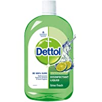 Dettol Liquid Disinfectant Cleaner for Home, Lime Fresh, 1L
