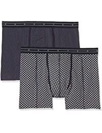 Scotch & Soda Men's Colourful Boxer Shorts pack of 2