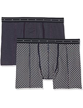 Scotch & Soda Herren Boxershorts Colourful Boxer Shorts, 2er Pack