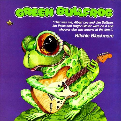 green-bullfrog
