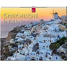 GRIECHISCHE INSELN: Original Stürtz-Kalender 2018 - Großformat-Kalender 60 x 48 cm
