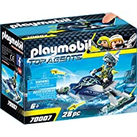 Playmobil 70007 Top Agents Team S.H.A.R.K. Rocket Rafter, Multi-Colour