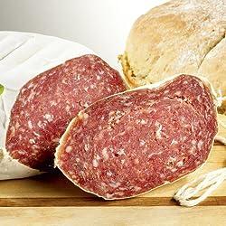 Italienische Parma-Salami Golfetta, im Stück