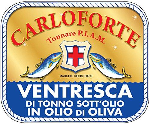 """Ventresca di Tonno Rosso di Carloforte"""" l'unico l'originale"""""""
