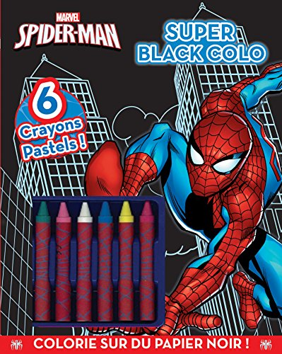 Spider-Man : Super Black colo (Spider-man-colo)
