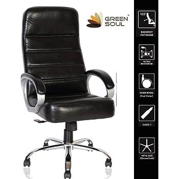 Green Soul London High Back Office Chair (Black)