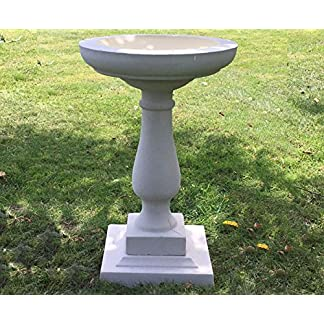 Buckingham Birdbath Buff In Colour Cast Stone Frost Proof Free Delivery UK MainlandTEL- 07446195317 61 sSgmoUnL