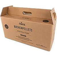 FUMOSA Premium Grillpellets aus reinem Buchenholz, 15 kg