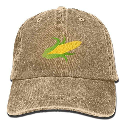 kjhglp Yellow Corn On The Cob Cotton Adjustable Cowboy Hat Baseball Cap for Adult Corn-cob-form