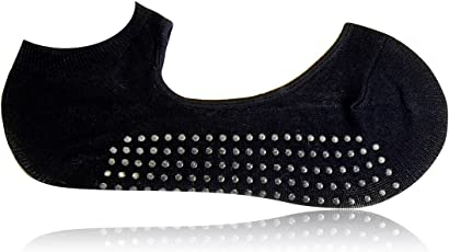 Balenzia Women's Anti Bacterial Yoga Socks with Anti Skid (1 Pair)