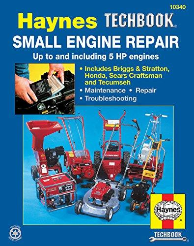 Small Engine Repair Manual Cover Image