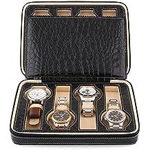 data di rilascio donna seleziona per ufficiale Amazon.it: porta orologi - 4 stelle e più