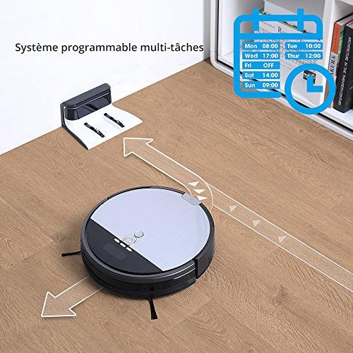 iLife Staubsauger-Roboter V8s, geplante Reinigung, moderne Technologie zur Reinigung von Haustierhaaren, ohne Verheddern - 5