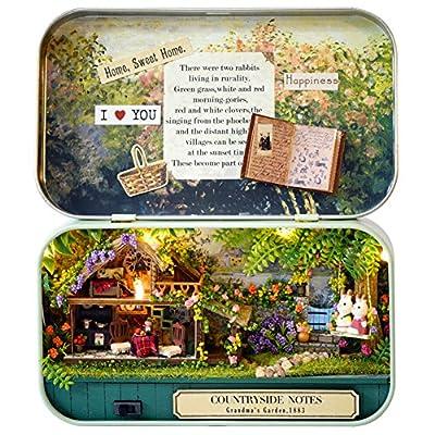 DIY Dollhouse Miniature Kit Handmade Xmas/Birthday Idea Gift Box Theatre