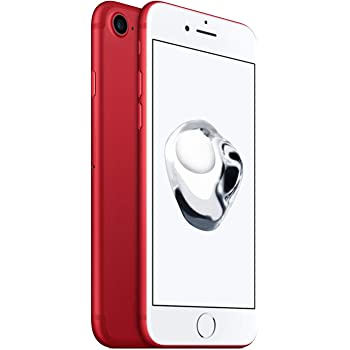"Apple iPhone 7 SIM única 4G 128GB Rojo - Smartphone (11,9 cm (4.7""), 128 GB, 12 MP, iOS, 10, Rojo)"