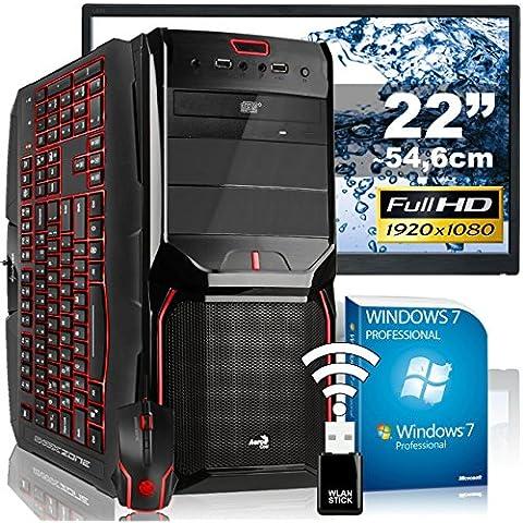 AGANDO high-end per PC Gaming pacchetto completo Multicolore GeForce GTX980 4GB | Windows 7 Pro Intel Core i7 6700 | 16GB RAM