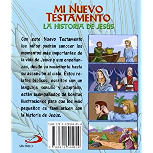 Mi Nuevo Testamento: La historia de Jesús (Biblia infantil)