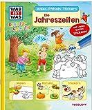 WAS IST WAS Kindergarten. Die Jahreszeiten: Malen, Rätseln, Stickern