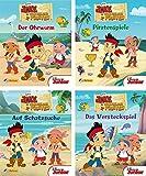 4 Bücher - Jake und die Nimmerland Piraten Nr. 1 - 4
