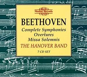 Sinfonien, Ouvertüren, Missa solemnis