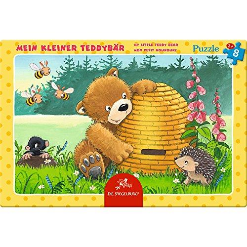 Spiegelburg 13870 Kleines Rahmenpuzzle Mein kleiner Teddybär (8 Teile)