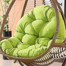 SXFYHXY Œufs Suspendus Coussins de Chaise Swing pour Jardin intérieur et extérieur Patio Confortable Relaxant (sans…