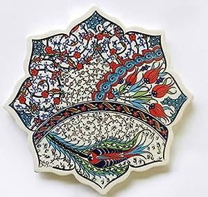 NEW carrelage en céramique Thé Plaque support de pot Hot Dessous de plat design Turc de Turquie Home