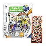 tiptoi Ravensburger Sicher im Straßenverkehr + Minions-Sticker