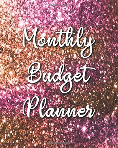 Monthly Budget Planner: Pink Gold 12 Month Financial Planning Journal, Monthly Expense Tracker and Organizer (Bill Tracker, Home Budget book)