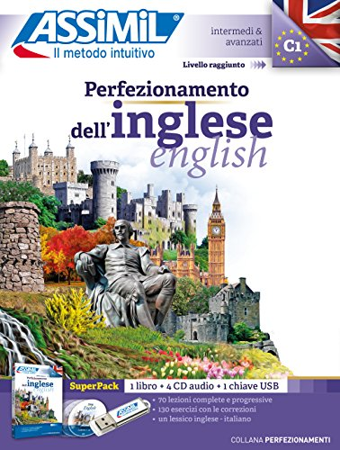 Perfezionamento dell'inglese. Con audio MP3 su memoria USB. Con 4 CD-Audio