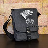 Borsa ricamata, GOT - Winter is Coming