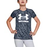 Under Armour Big Logo Tee Novelty - camisa manga corta Niñas