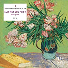 Impressionist Bouquets 2018 Calendar