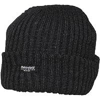 Berretto Alaska nero Thinsulate lavorato a maglia grossa