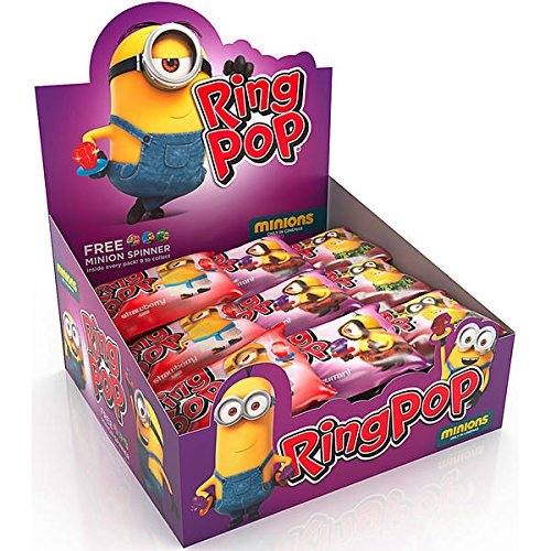 DOK Ring Pop Twister Minions 24x10g (Ring Aromen Pop)