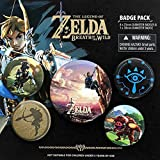 Pack de Chapas Zelda Breath Of The Wild