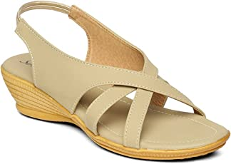 PARAGON SOLEA Plus Women's Beige Sandals