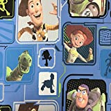 Toy Story blau Lizenzprodukt Disney Premium Grade 100%