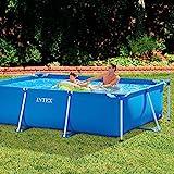 Intex Family Schwimmbecken, blau, 300 x 200 x 75 cm -