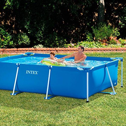 Intex Family Schwimmbecken, blau, 300 x 200 x 75 cm - 2