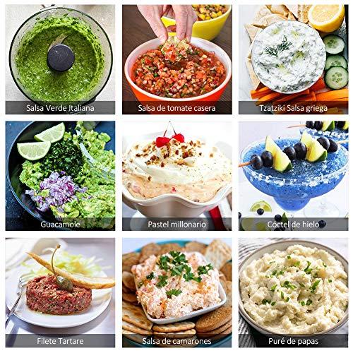 Sedhoom Picadora de Alimentos- Cortador de Verduras