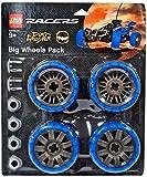 LEGO Dirt Crusher Räder-Umrüst-Kit blau Big Wheels Pack 4286024 - LEGO