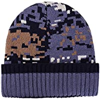 HAOLIEQUAN Donna Uomo Cappello Caldo Orecchio Motivo A Mosaico Crochet  Inverno Plus Cappelli in Maglia di 77d996be083d