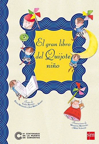 Portada del libro El gran libro del Quijote niño