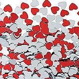 P Prettyia 30g Herzen Konfetti Streudeko Streuartikel Tischdeko für Hochzeit Valentinstag und Jubiläum - 5